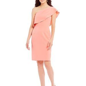 Antonio Melani Flamingo Jony 1-Shoulder Dress 12